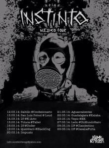 INSTINTO MEXICO TOUR 2014