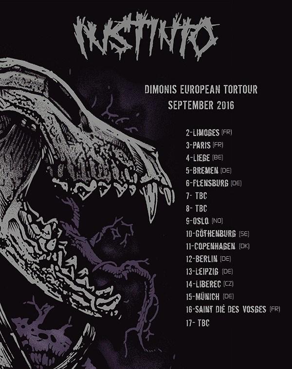Instinto - European tour 2016